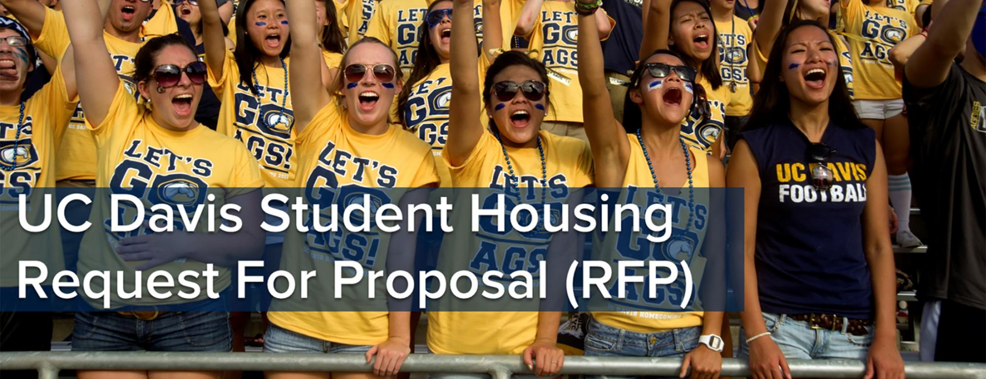 UC Davis Student Housing Request for Proposal