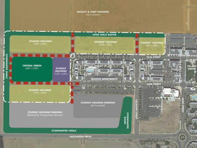 West Village Site Diagram