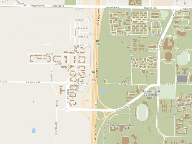 UC Davis Student Housing Request For Proposals Uc Davis Campus Map